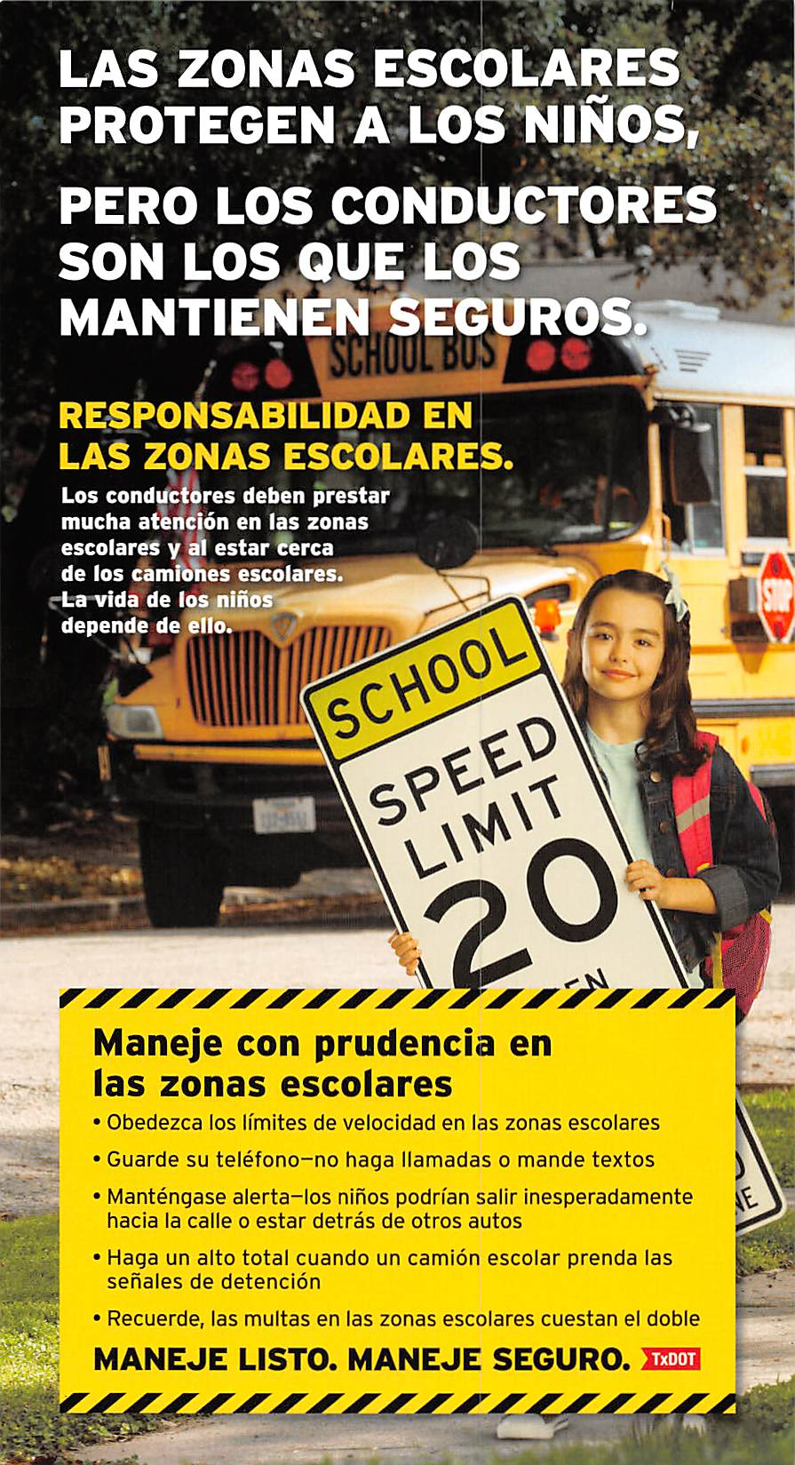 Step Ad School Bus Espanol