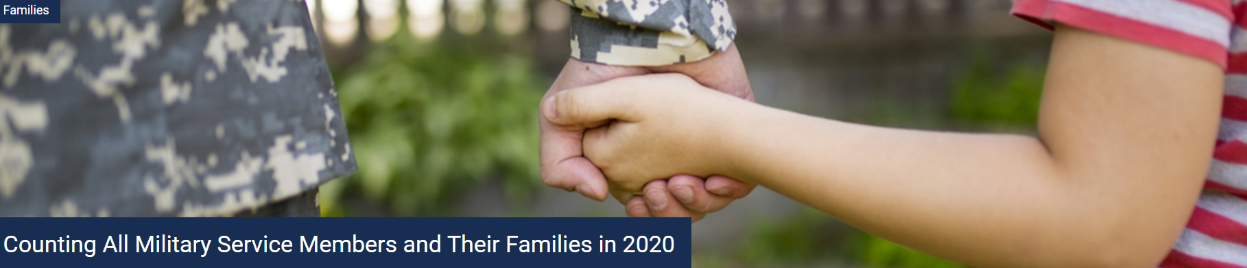 Military Service Members and Family Count