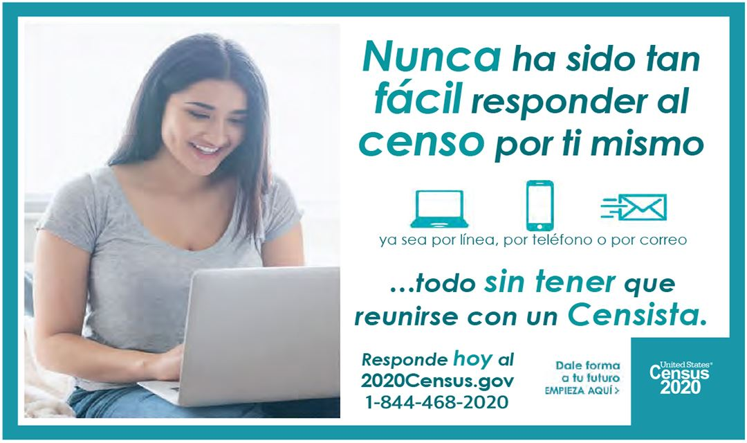 Census 2020 Respond On Your Own-Spanish 1080x640